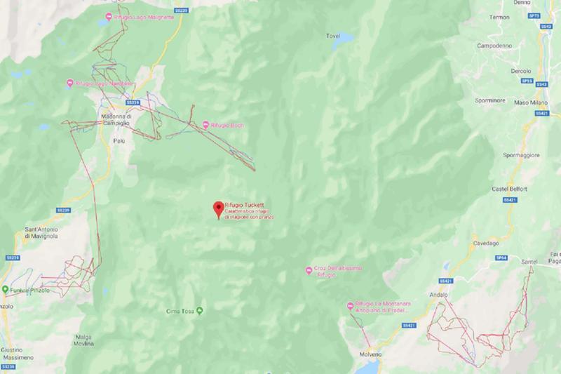 Valanga sulle Dolomiti del Brenta, un morto - Giornale di Brescia